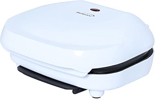 Brentwood Appliances TS-605 2-Slice Capacity Electric Contact Grill, White