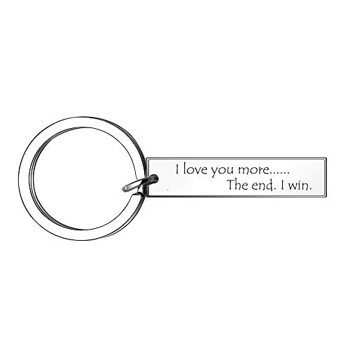 Couple Keyring Key Chain I Love You Keychains for...