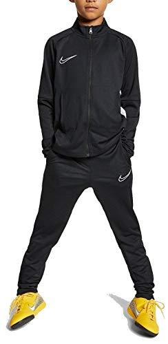 Nike Jungen B NK Dry ACDMY TRK Suit K2 Tracksuit, Black/White/(White), M