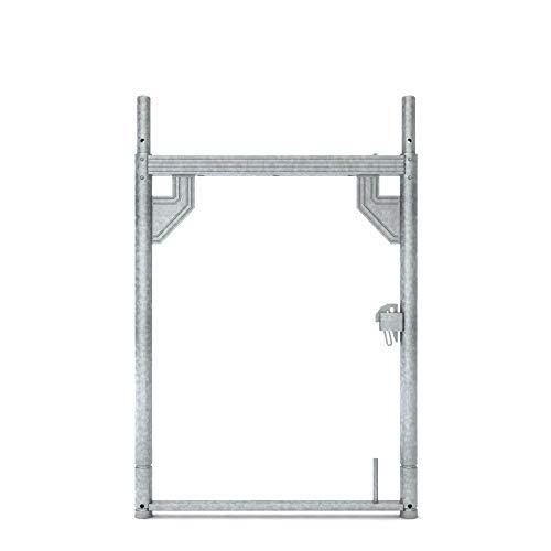 Gerüstrahmen Rahmen Baugerüst Stellrahmen Vertikalrahmen 1,00 m x 0,73 m Stahl assco für Fassadengerüst