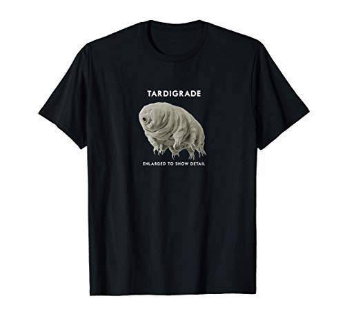 Tardigrade Water Bear Moss Piglets Micro Animals Microscope T-Shirt