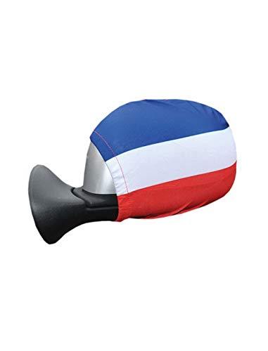 Toy Adventure - 2 Außenspiegel Flaggen in den Holland Farben rot weiß blau, perfekt für die Europameisterschaft , Mehrfarbig