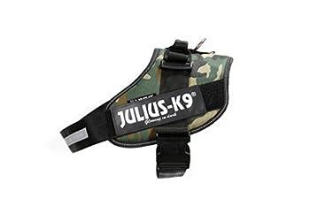 Julius-K9, 16IDC-C-1, Harnais IDC Power, Taille: 1, Camouflage Armée