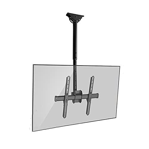 TELEVISOR Montaje de techo Soporte ajustable Extensión de inclinación de extensión de rotación TELEVISOR Percha para la mayoría de los televisores de pantalla plana de 32-70 pulgadas, máx. VESA 40 0x4