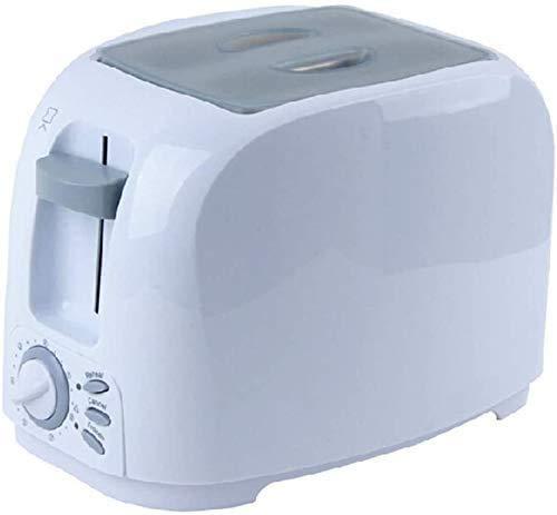 GJJSZ Panificadora automática 2 tostadoras,tostadora casera,Ahorro de energía,tostadora rápida,tostadora multifunción integrada con Parrilla lxhff