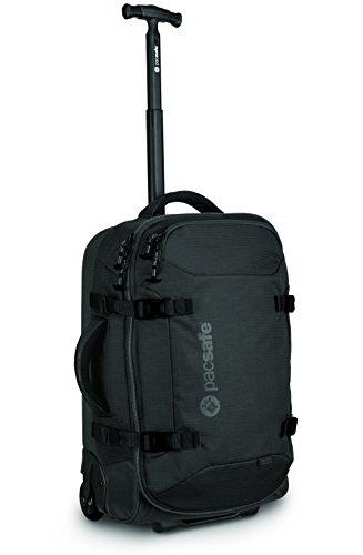 Pacsafe Toursafe AT21Diebstahlschutz Rädern Handgepäck, schwarz (schwarz) - 50100100