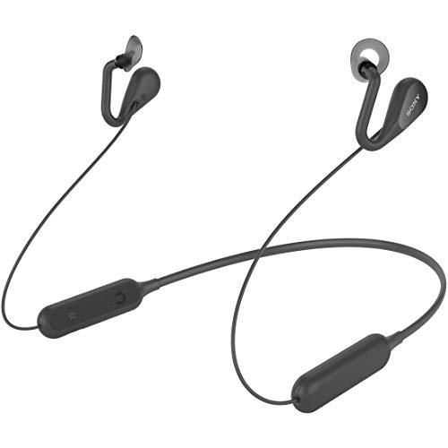 ソニー ワイヤレスオープンイヤーステレオイヤホン SBH82D : Bluetooth/ながら聴き/NFC対応/マイク・操作ボタン付 2019年モデル ブラック SBH82D B
