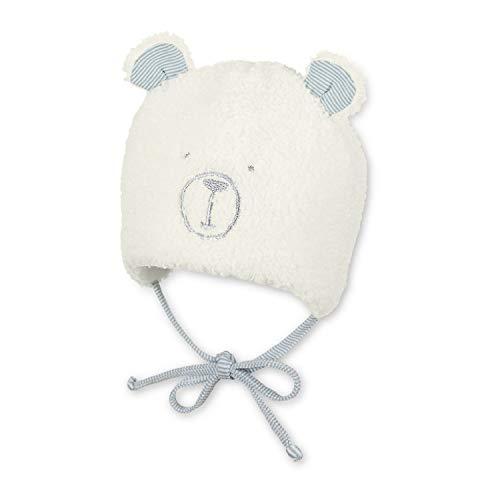 Sterntaler - baby meisjes jongens muts gevoerd wintermuts om te binden met oortjes teddy, beige - 4501980