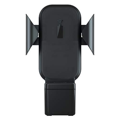 Drie In Een Auto Draadloos Opladen Beugel Auto Outlet Beugel Navigatie Beugel Voor Mobiele Telefoon Horloge Headset Iwatch Zwart