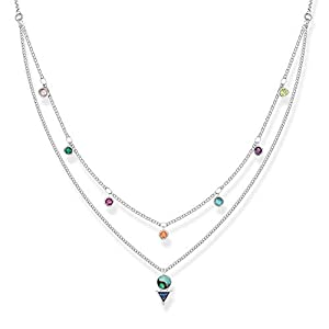 Thomas Sabo Damen-Strang-Halskette 925 Sterlingsilber KE1844-983-7-L45v