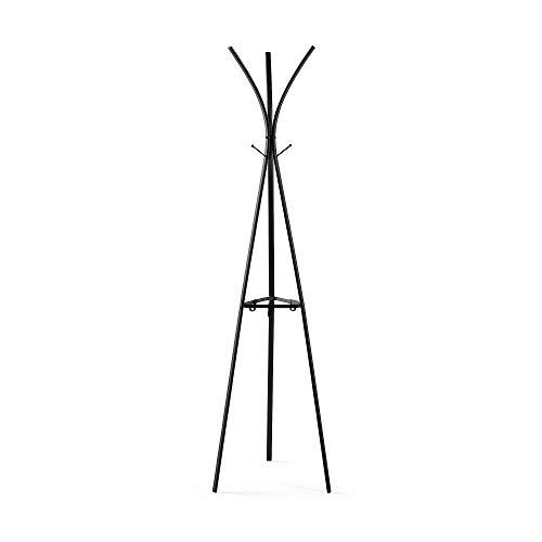 Kave Home - Perchero Stearn 183 cm de Acero en Negro