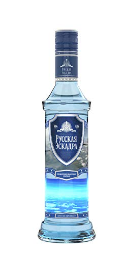 Russischer Vodka Squadra Russa Flugzeug 0,7l 40% vol.
