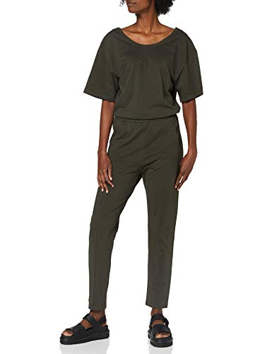 G-STAR RAW Womens Bohdana Loose Jumpsuit, Asfalt B771-995, X-Large