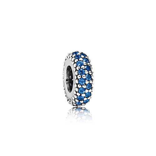 Qinger Inspiration 791359NCB - Abalorio para Pulsera Pandora, Color Azul