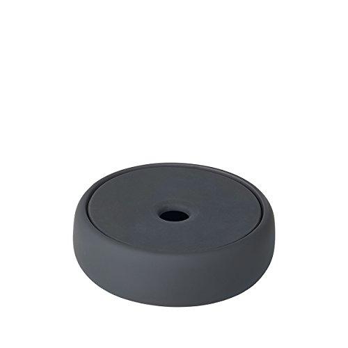 Blomus Sono Aufbewahrungsdose, Keramik, Silikon, Magnet, H 4 cm, Ø 12 cm, V 0,17 l