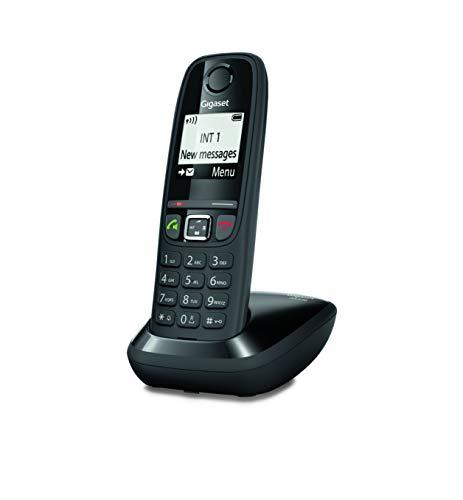 Gigaset AS470 Solo - Téléphone Fixe sans Fil - Noir
