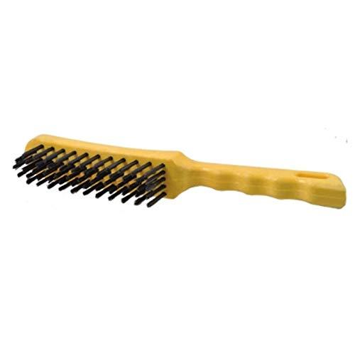 OSBORN - Brosse à main fil ondulé en laiton avec poignée plastique - 0008-447.574