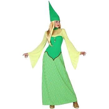 Atosa-22896 Disfraz Duende, color verde, M-L (22896): Amazon.es ...