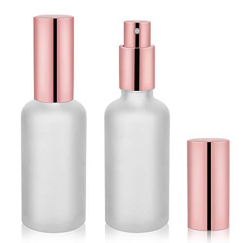 2oz Glass Spray Bottles, Perfume Atomizer, Fine Mist Spray - 2Pack