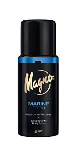 Magno - Desodorante Spray Marine - Fragancia Refrescante - 3 uds de 150ml