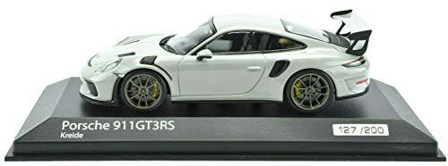 Premium Hobbies / Minichamps Porsche 911 991.2 Chalk GT3 RS 1:43 Diecast Car 413067039