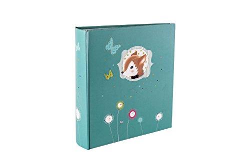 Panodia 271049 Foxy Album Photo 200 Vues/Pages Bleu 11.5 x15 cm