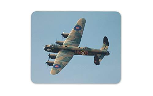 WOTAKA Gaming-Mauspad,Avro Lancaster Bomber,Rutschfest Verschleißfestes Und Haltbares Gummi,Mousepad Für Bürocomputer,9.5