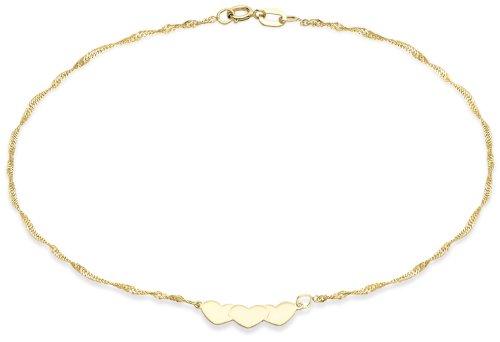 Carissima Gold Tobillera de mujer con oro 9K (375)