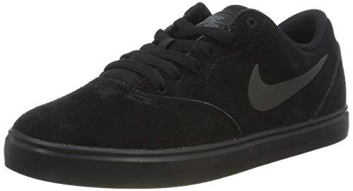 Nike SB Check Suede (GS), Zapatillas Hombre, Negro (Black/Black/Anthracite 001), 40 EU