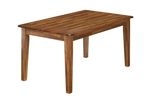 Signature Design by Ashley Berringer Dining Room Table, Rustic Brown