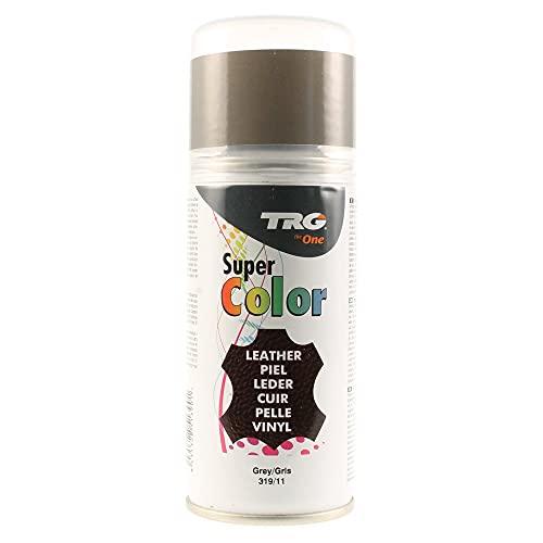 TRG Super Spray Leder Lederfarbspray Lederfarbe (#319 Grau / 11-150 ml - 3.77 oz.)