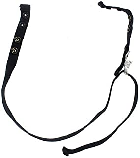 San Franciscan Chinstrap, Black Nomex with Dual Brass Snaps (Original NY'er Style) - n/a