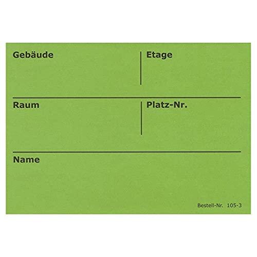 BB-Verpackungen Umzugsetiketten, 50 Stück, 105 x 75 mm, selbstklebend, rückstandslos ablösbar , Umzug Aufkleber Etikett (grün) thumbnail