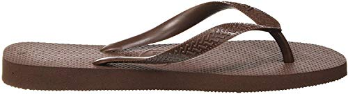 Havaianas Top, Tongs Mixte Adulte, Marron (Braun), 35/36 EU