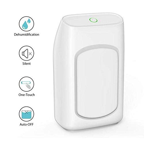 Purchase LSYOA Semiconductor Mini Dehumidifier, Portable Intelligent Quiet Dryer for Basement/Bedroo...