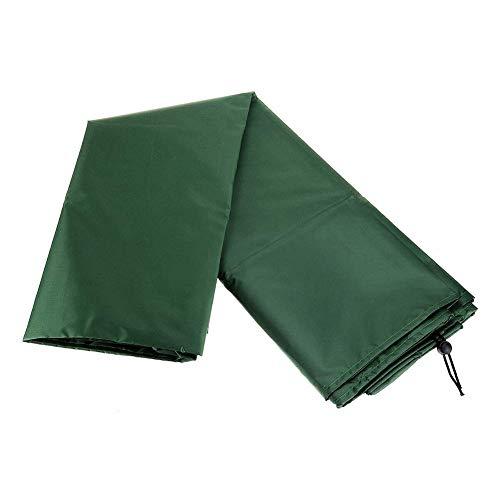Columpio Silla Cubierta, Impermeable Colgante Huevo Columpio Silla Cubierta Patio Hamaca Antipolvo Nieve Protector, 210T Oxford Paño Poliéster - Verde