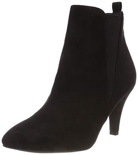 Bianco Damen Low Heel Chelsea Stiefeletten, Schwarz (Black 101), 38 EU