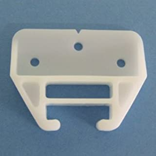 Plastic Drawer Guides with Screws (6 Pack) - Center Mount Dresser Drawer Guide Brackets