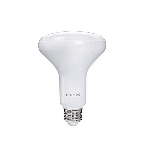 Philips LED Dimmable BR30 Soft White Light Bulb with Warm Glow Effect 650-Lumen, 2700-2200-Kelvin, 9-Watt (65-Watt Equivalent), E26 Base, Frosted, 1-Pack