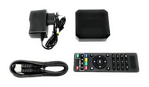 Tv Box 4K H.265 Display Android 7.1.2 Quad Core Hd 2.0 Wifi Smart Tv 2 + 16Gb