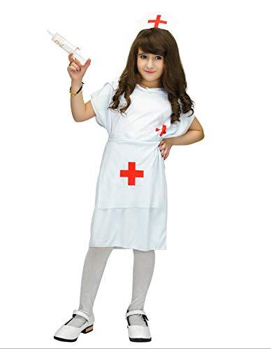 Party Fiesta Disfraz Enfermera para Niña (10-12)