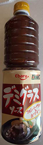 エバラ デミグラスソース 厨房応援団 1L×6本 業務用