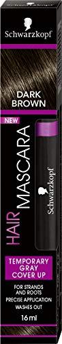 Schwarzkopf - Hair Mascara - Coloration Racines Temporaire - Châtain Foncé 16ml
