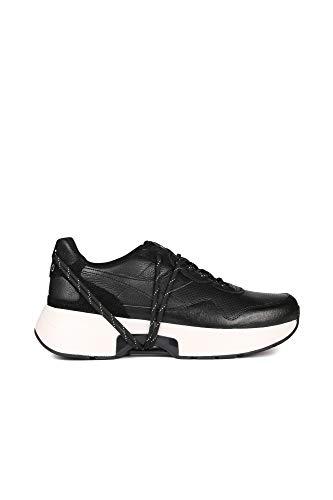 Diadora Heritage, Unisex Adulto, N9000 TXS H Leather, Pelle, Sneakers, Nero, 43 EU