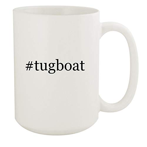 #tugboat - 15oz Hashtag White Ceramic Coffee Mug