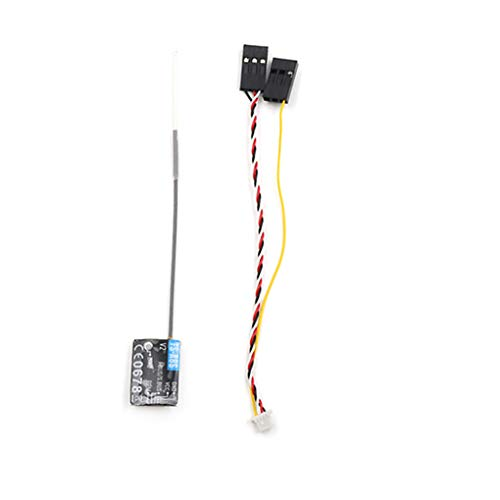 worahroe Sostituzione del Ricevitore FS-A8S 2.4G 8CH Ricevitore FS-A8S Ricevitore per FS I6 FS I6S RC QAUDCotter FPV Racing Drone Accessori