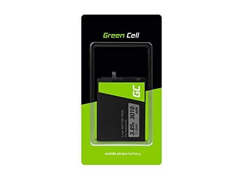 Batería de repuesto interna Green Cell BN36 compatible con Xiaomi Mi A2 6X | Li-Ion | 3010 mAh 3.85V | Batería de reemplazo para teléfono móvil del smartphone | Recargable