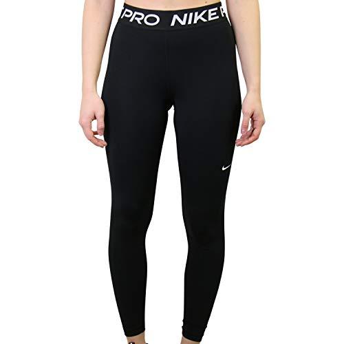 NIKE W NP 365 Tight Leggings, Black/(White), 2XL Womens