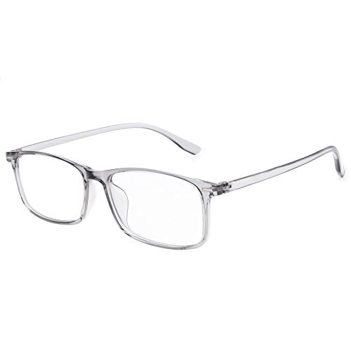 Blue Light Filter Computer Nearsighted Myopia Glasses, [Anti Eyestrain] [UV Blocking] Distance Glasses, Men & Women (Strength: -2.50)
