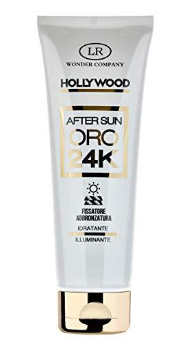 After Sun Gold 24k, crema corpo con Oro 24 carati illuminante, idratante e nutriente (1x50ml) - LR Wonder Company